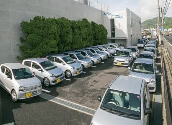 訪問看護用車用駐車場
